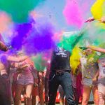 festiwal kolorów w Łukęcinie